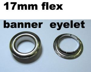 Flex Banner Eyelet, Big Eyelet (17mm, 20mm)
