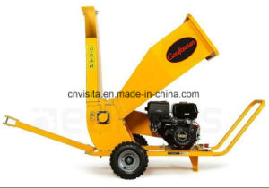 420cc 15HP Electric Start Gasoline Wood Chipper Machine, Tree Branches Shredder pictures & photos