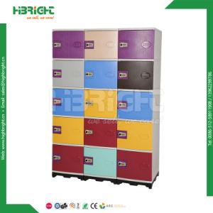 Knock Down Design Plastic Storage Cabinet (ABS LOCKER) pictures & photos