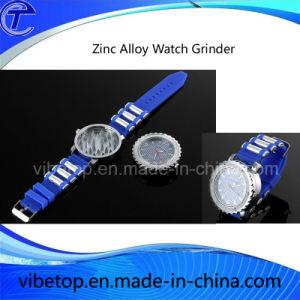 Creative Zinc Alloy Watch Tobacco Herb Grinder pictures & photos