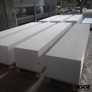 Glacier White Corian 100% Acrylic Solid Surface 12mm pictures & photos