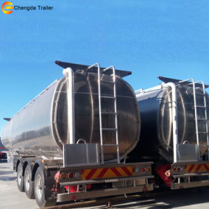 60000 Liter Used Aluminum Oil Fuel Tanker Trailers for Sale pictures & photos