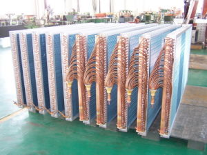 7mm Copper Tube Fin Halocrbon Heat Exchanger pictures & photos