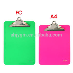 Good Quality PS A4/FC Writing Board/Metal Clip Board pictures & photos