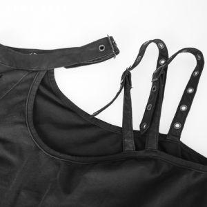 Asymmetric Burn out off Single Shoulder Dress (Q-247) pictures & photos