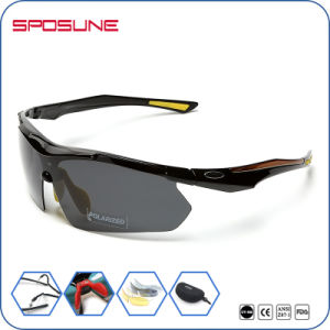 Cat 3 Comfortable Fit 5 Interchangeable Lens Set Mountain Bike Road Bike Sunglasses pictures & photos