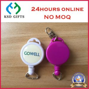 Plastic/Metal Retractable Custom ID Card Holder Badge Reels pictures & photos