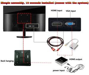 Desktop PC DJ-C007 with H61 Good Market in Mongolia pictures & photos