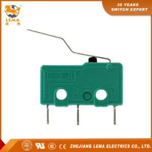 Kw12-4s Bent Lever Electrical Sensitive Micro Switch PCB Microswitch pictures & photos
