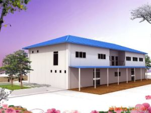 Movable Sandwich Steel Section Building/House pictures & photos