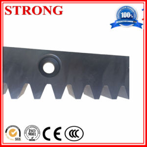 Construction Hoist Steel or Galvanized Gear/Toothed Rack M8 M4 pictures & photos