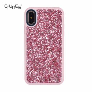 Bling Glitter Pattern Sparkly Handmade Soft TPU Silicone Bumper Cover Case for Apple iPhone X pictures & photos