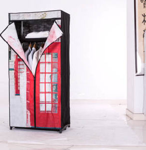 Popular Big Size Wardrobe Closet with Drawers