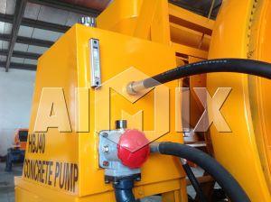 8m3/H Yanmar Diesel Engine Mobile Concrete Mixing Pumping Machine pictures & photos