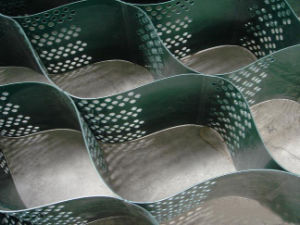Textured Perforated Plastic HDPE Geocell pictures & photos