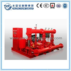 High Pressure Diesel Engine Packaged Fire Pump pictures & photos