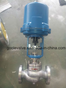 Electric Actuated Single Seat Control Valve with Globe Type (GZDLP) pictures & photos