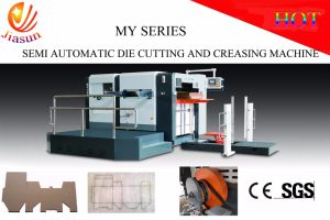 Semi-Automatic Die-Cutting and Creasing Machine MY1200 pictures & photos
