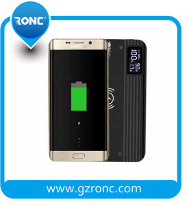 Wireless Mobile Phone Power Bank Charger with Qi Technology pictures & photos