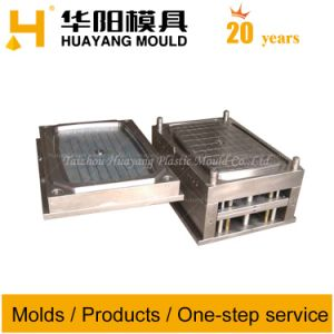 Plastic Square Table Injection Mould (HY011) pictures & photos