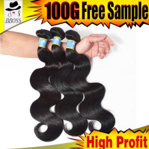 Natural 10A Brazilian Virgin Hair Extension pictures & photos