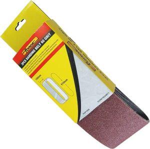 """3""""*24"""" 3PCS Grinding Tools Aluminium Oxide 100 Grit Abrasive Sanding Belt pictures & photos"""