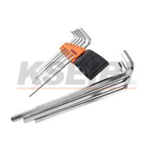 Kseibi 9-PC Extra Long Hex Key Wrench Set pictures & photos