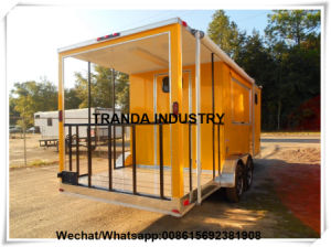 Crepeice Cream Cart Pearl panel Concession Trailers in China pictures & photos