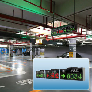 China Intelligent Smart Parking Lots Guidance LED Screen pictures & photos