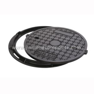 En124 B125 Composite Manhole Cover with 2 Screw pictures & photos