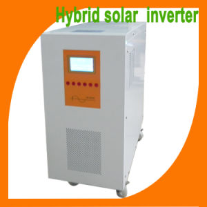 High Quality 500W/1kw/2kw/3kw/4kw/5kw off Grid Hybrid Solar Inverter with MPPT Solar Controler Built Inside pictures & photos