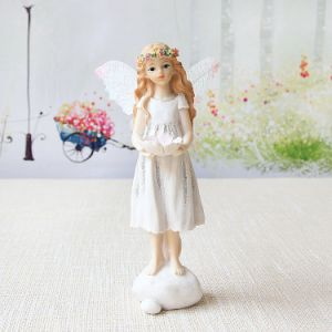 Resin Woodland Fairy Angel Figure Spring Summer Home Decor pictures & photos