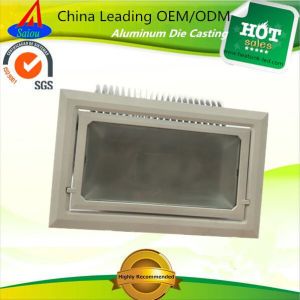 OEM Precision Alloy Metal LED Floodlight Aluminum Casting