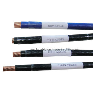 AWG1/0 AWG2/0 Thwn Thhn Nylon Cable pictures & photos