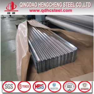 SPCC SGCC Dx51d Gi Galvanized Roofing Metal Corrugated Steel Sheet pictures & photos