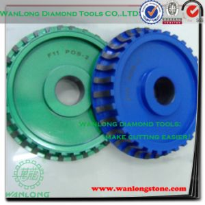 Diamond Carbide Nail Grinding Wheel-Diamond Grinding Polishing Wheels for Stone Slab pictures & photos