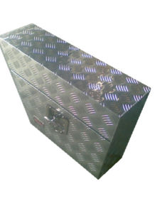 Checker Plate Aluminium Tool Box - Truck Cars Storage