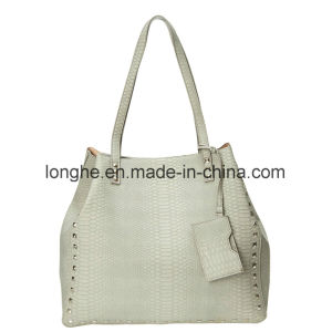 Elegant Studs Designer Fashion Ladies Handbags (ZXS0099)) pictures & photos