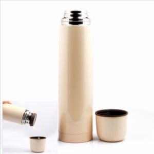 1000ml 18/8 Stainless Steel Bullet Vacuum Thermos Flask pictures & photos