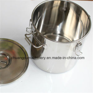 12L Cylindrical Bucket, Stainless Steel Bucket pictures & photos