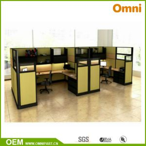 China New Style Office Furniture Workstation with Partition Screen ...