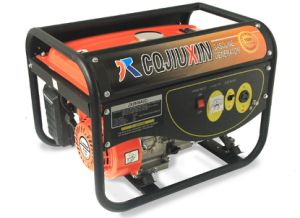 Jx3900A (C) 2.8kw High Quality Gasoline Generator with a. C Single Phase, 220V and Cover pictures & photos