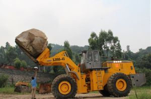 45ton Heavy Duty Block Fork Loader for Marble and Granite pictures & photos