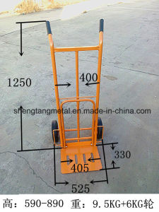 Soli Wheel Loading 250kg Sack Truck pictures & photos
