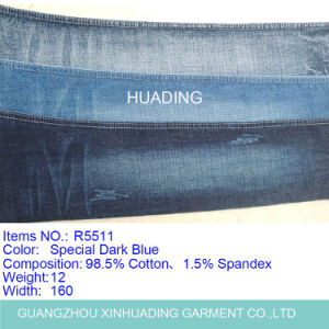 Denim Fabric for Jeans Garment (R5511) pictures & photos