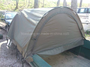 Army Green Fishing Boat with Tent for Sale pictures & photos
