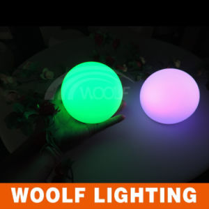 Battery Operated Flashing LED Disco Balls pictures & photos