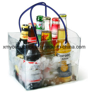 Promotional Plastic Water-Tight Beer Bottle Cooler Bag pictures & photos