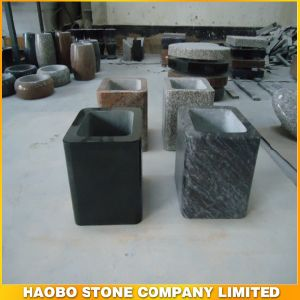 Haobo Stone Factory Direct Sale of Granite Vase Funeral pictures & photos