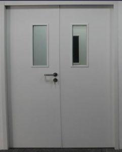 UL Steel Fire Door with Vision Panel